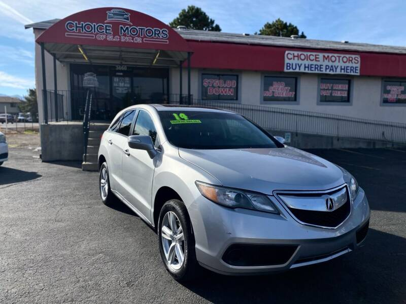 2014 Acura RDX for sale at Choice Motors of Salt Lake City in West Valley  City UT