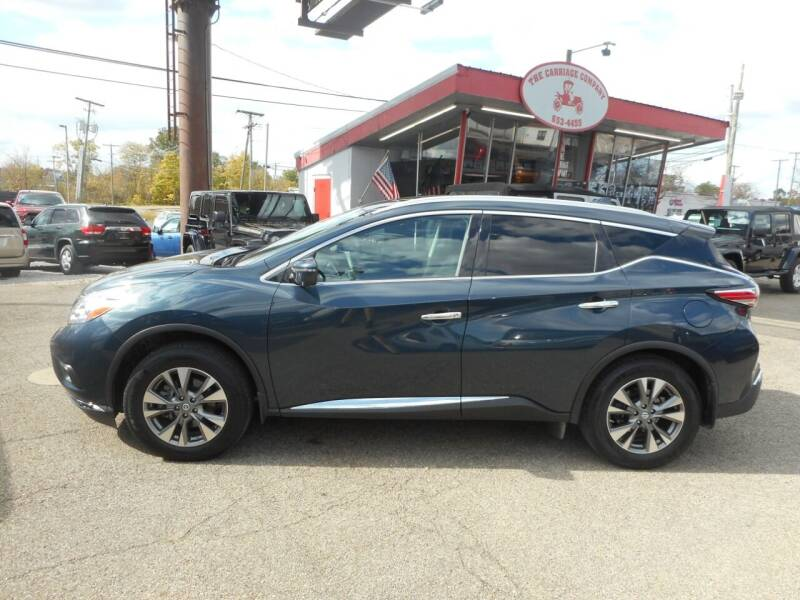 2017 Nissan Murano for sale at The Carriage Company in Lancaster OH