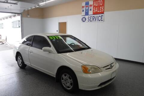 2001 Honda Civic for sale at 777 Auto Sales and Service in Tacoma WA