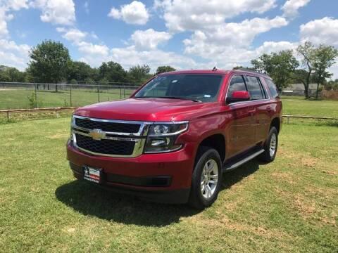 2015 Chevrolet Tahoe for sale at LA PULGA DE AUTOS in Dallas TX