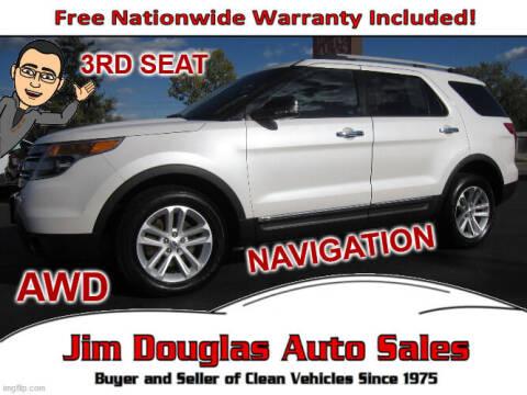2013 Ford Explorer for sale at Jim Douglas Auto Sales in Pontiac MI