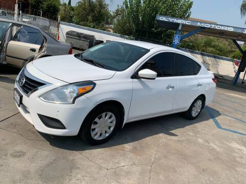 2015 Nissan Versa for sale at Olympic Motors in Los Angeles CA