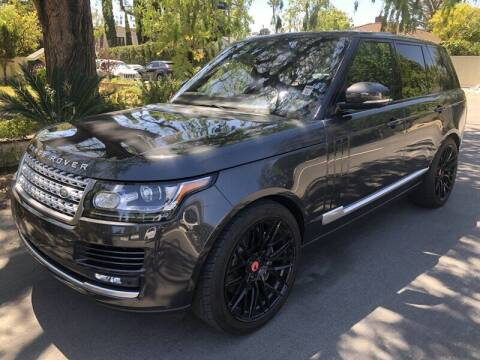 2016 Land Rover Range Rover for sale at Boktor Motors in North Hollywood CA