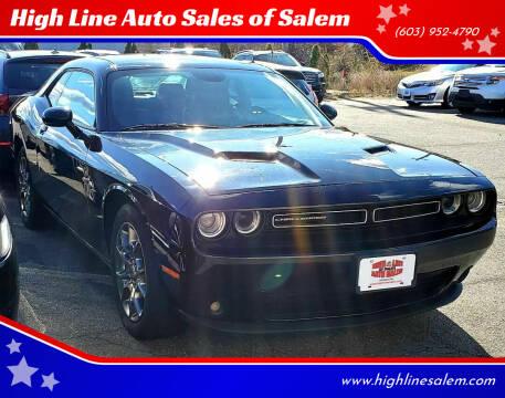 2017 Dodge Challenger for sale at High Line Auto Sales of Salem in Salem NH