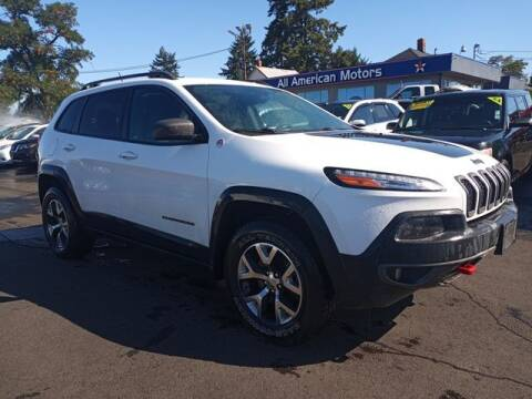2015 Jeep Cherokee for sale at All American Motors in Tacoma WA
