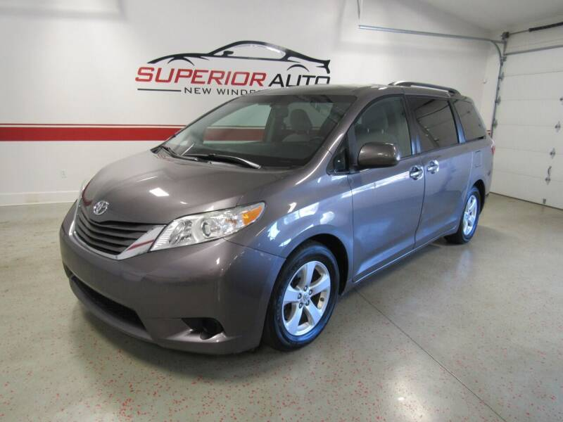 2016 Toyota Sienna for sale at Superior Auto Sales in New Windsor NY