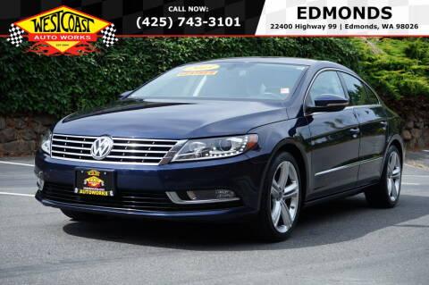 2013 Volkswagen CC for sale at West Coast Auto Works in Edmonds WA