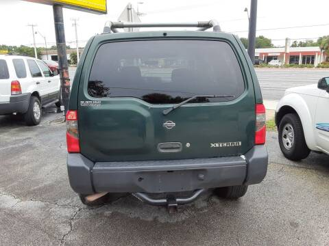 2000 Nissan Xterra for sale at Easy Credit Auto Sales in Cocoa FL