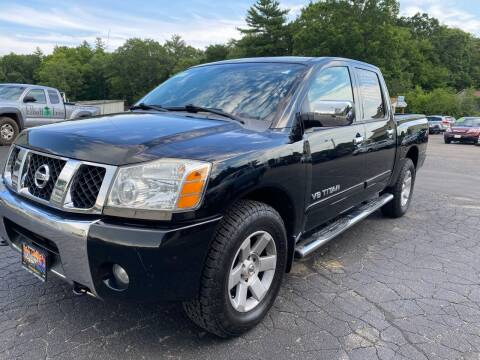 2007 Nissan Titan for sale at Irving Auto Sales in Whitman MA
