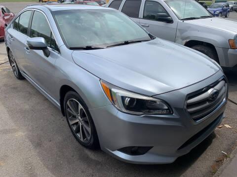 2015 Subaru Legacy for sale at BURNWORTH AUTO INC in Windber PA