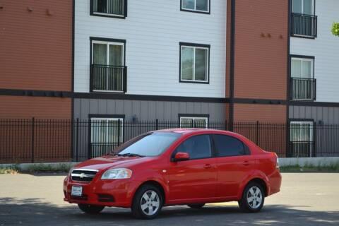 2007 Chevrolet Aveo for sale at Skyline Motors Auto Sales in Tacoma WA