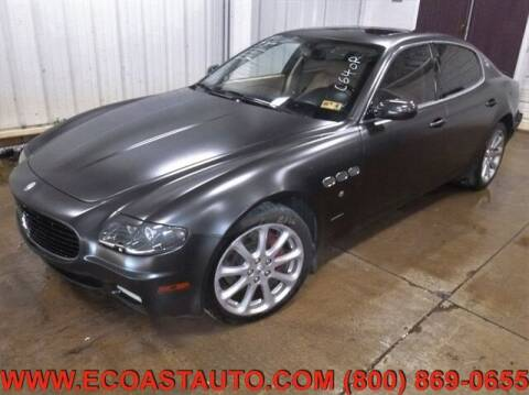 2007 Maserati Quattroporte for sale at East Coast Auto Source Inc. in Bedford VA