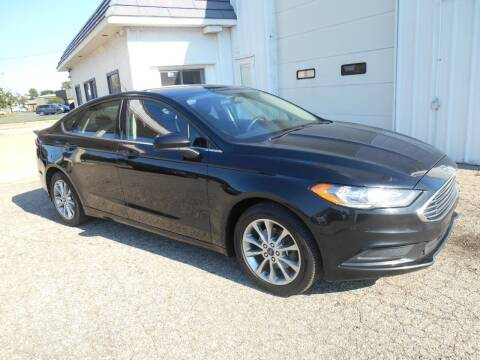 2017 Ford Fusion for sale at Unity Motors LLC in Jenison MI