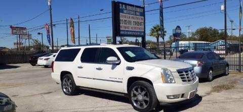 2009 Cadillac Escalade for sale at S.A. BROADWAY MOTORS INC in San Antonio TX