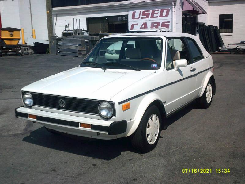 1987 Volkswagen Cabriolet for sale in York, PA