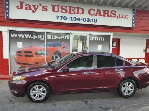 2009 Honda Accord for sale at Jays Used Car LLC in Tucker GA