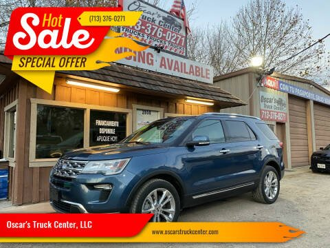 2018 Ford Explorer for sale at Oscar's Truck Center, LLC in Houston TX