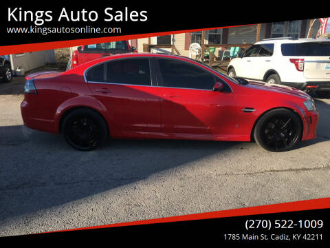 2009 Pontiac G8 for sale at Kings Auto Sales in Cadiz KY