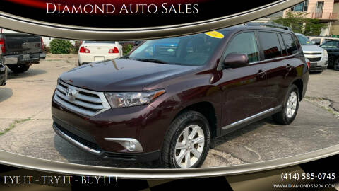 2011 Toyota Highlander for sale at Diamond Auto Sales in Milwaukee WI
