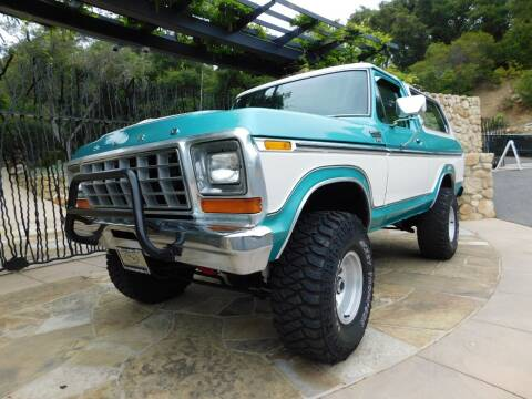 1978 Ford Bronco for sale at Milpas Motors in Santa Barbara CA