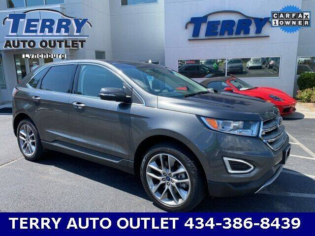 2017 Ford Edge for sale at Terry Auto Outlet in Lynchburg VA