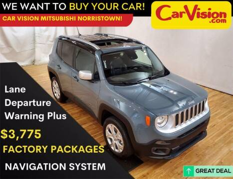 2017 Jeep Renegade for sale at Car Vision Mitsubishi Norristown in Trooper PA