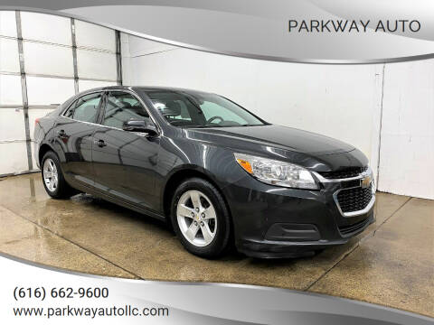 2015 Chevrolet Malibu for sale at PARKWAY AUTO in Hudsonville MI