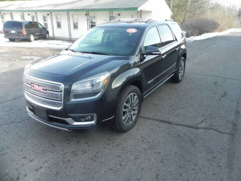 2014 GMC Acadia for sale at Thompson Car Company in Bad Axe MI