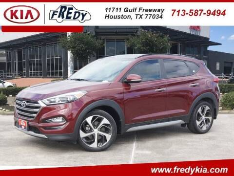2017 Hyundai Tucson for sale at FREDY KIA USED CARS in Houston TX