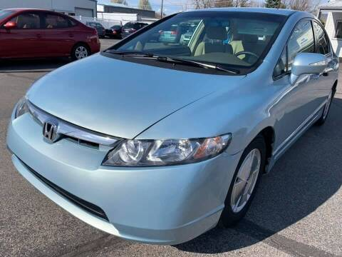 2008 Honda Civic for sale at RABI AUTO SALES LLC in Garden City ID