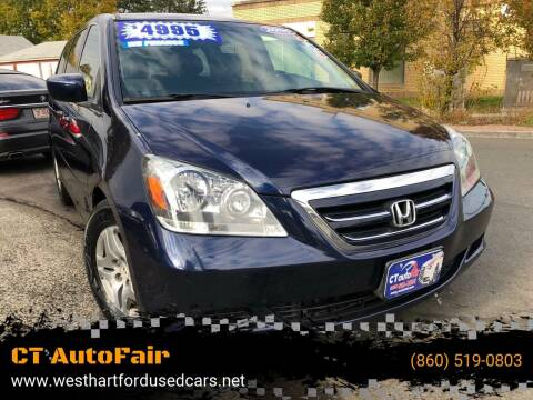 2006 Honda Odyssey for sale at CT AutoFair in West Hartford CT