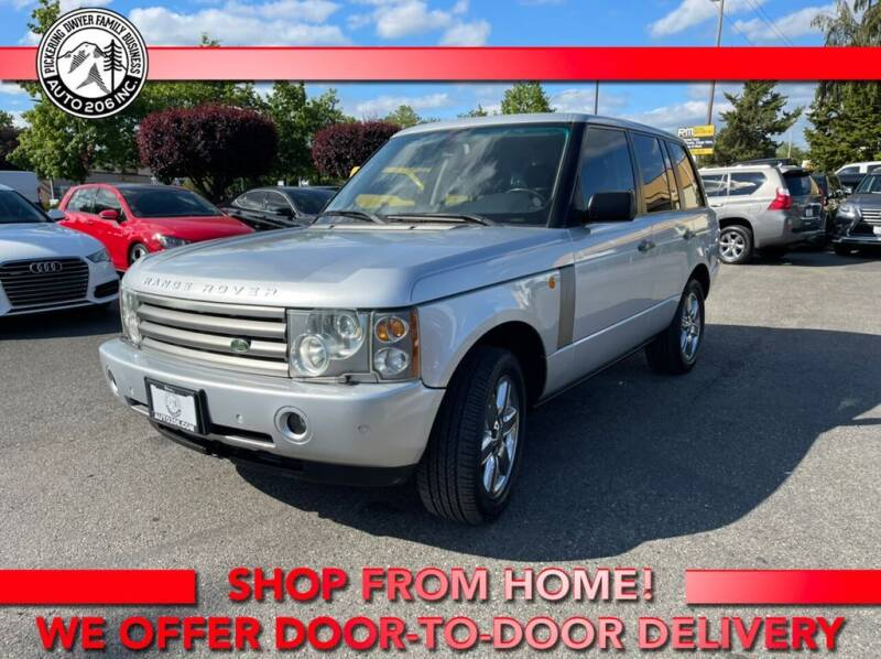 2004 Land Rover Range Rover for sale at Auto 206, Inc. in Kent WA