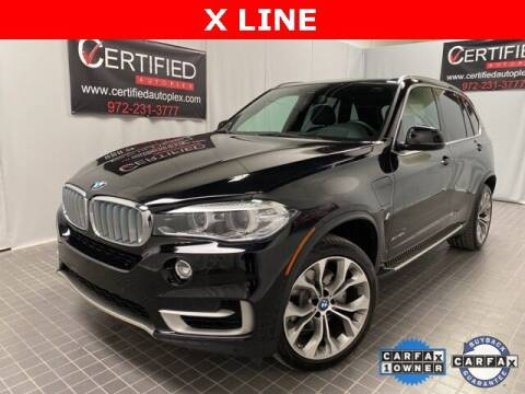 2018 BMW X5 for sale at CERTIFIED AUTOPLEX INC in Dallas TX