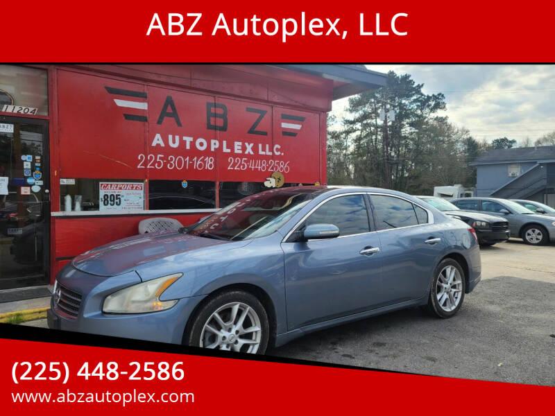 2011 Nissan Maxima for sale at ABZ Autoplex, LLC in Baton Rouge LA