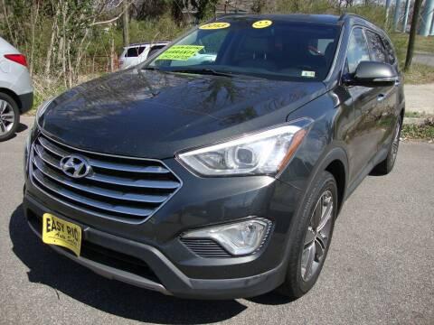 2013 Hyundai Santa Fe for sale at Easy Ride Auto Sales Inc in Chester VA