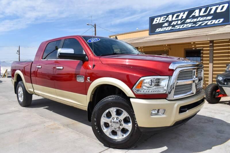 2013 RAM Ram Pickup 2500 for sale at Beach Auto and RV Sales in Lake Havasu City AZ