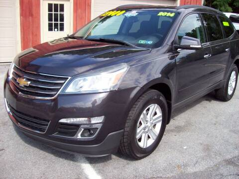 2014 Chevrolet Traverse for sale at Clift Auto Sales in Annville PA