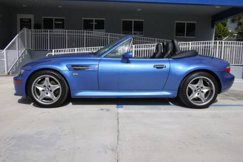 2000 BMW Z3 for sale at PERFORMANCE AUTO WHOLESALERS in Miami FL