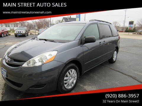 2007 Toyota Sienna for sale at MAIN STREET AUTO SALES in Neenah WI