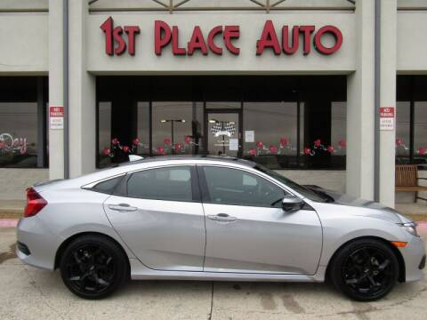 2017 Honda Civic for sale at First Place Auto Ctr Inc in Watauga TX