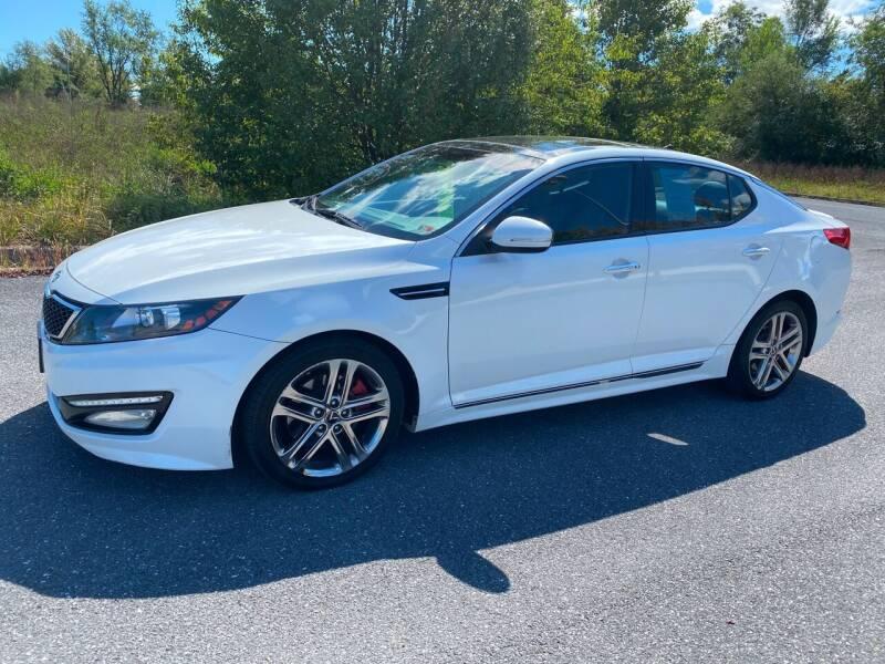 2013 Kia Optima for sale at Augusta Auto Sales in Waynesboro VA