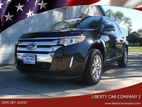 2014 Ford Edge for sale at Liberty Car Company - II in Waterloo IA