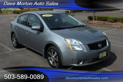 2008 Nissan Sentra for sale at Dave Morton Auto Sales in Salem OR
