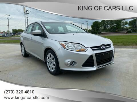 2012 Ford Focus for sale at King of Cars LLC in Bowling Green KY