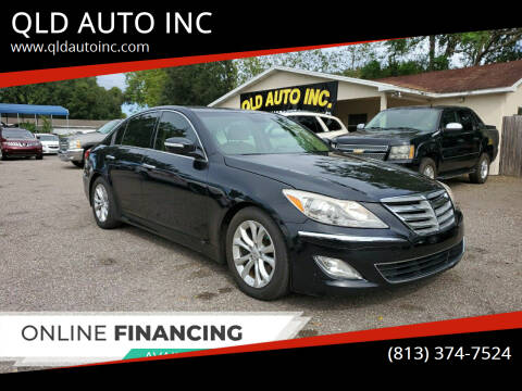 2013 Hyundai Genesis for sale at QLD AUTO INC in Tampa FL