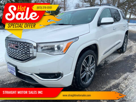 2017 GMC Acadia for sale at STRAIGHT MOTOR SALES INC in Paterson NJ