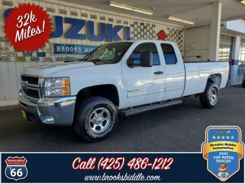 2009 Chevrolet Silverado 2500HD for sale at BROOKS BIDDLE AUTOMOTIVE in Bothell WA