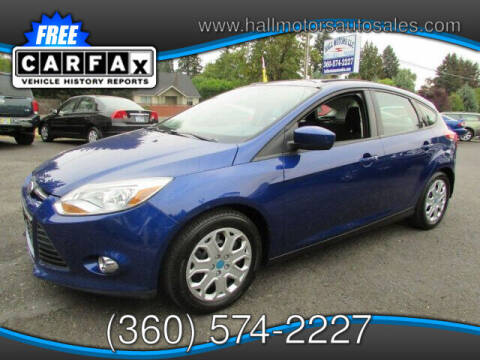 2012 Ford Focus for sale at Hall Motors LLC in Vancouver WA