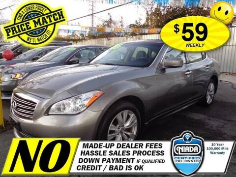 2011 Infiniti M37 for sale at AUTOFYND in Elmont NY