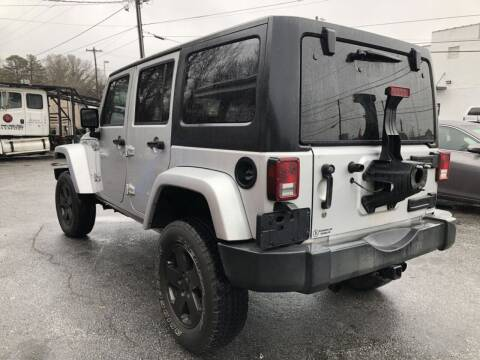 2007 Jeep Wrangler Unlimited for sale at T.K. AUTO SALES LLC in Salisbury NC